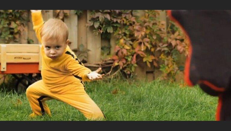 5 видео недели: Kill Bill на новый лад, массаж слоном и кинозлодеи