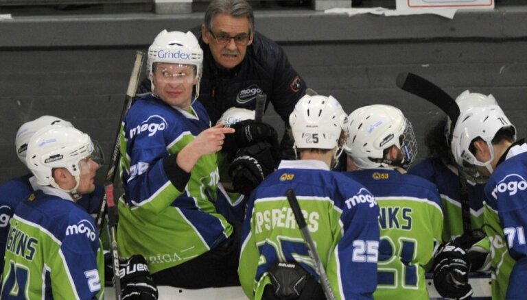 'Mogo' panāk izlīdzinājumu Latvijas hokeja čempionāta finālsērijā