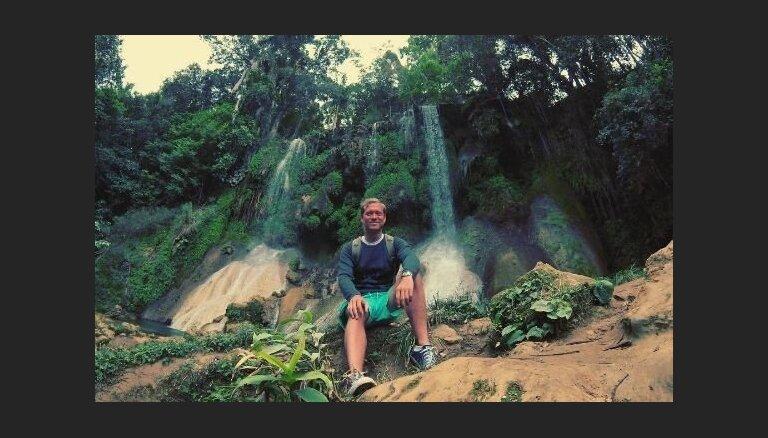 Foto: Ralfs Eilands bauda atpūtu Kubā