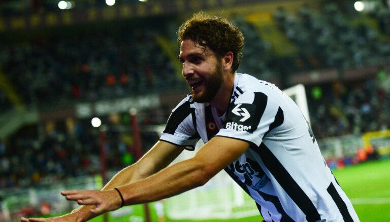Lokatelli vēli vārti ļauj 'Juventus' uzvarēt Turīnas derbijā