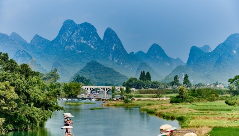 Neticami skaistas vietas, kur baudīt ūdenspriekus un elpu aizraujošas ainavas