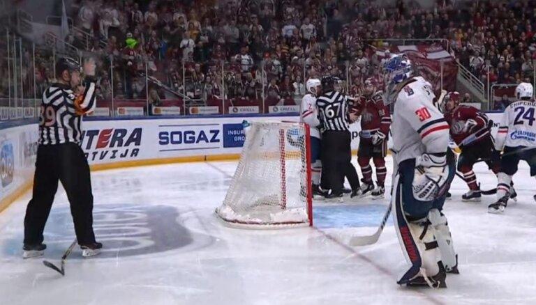 'Slovan' vārtsargs Štepaneks pēc spēles ar Rīgas 'Dinamo' diskvalificēts uz piecām spēlēm