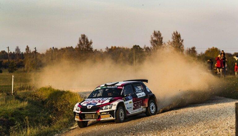 'Rally Liepāja' turpināsies cīņa par FIA Eiropas rallija čempionāta punktiem