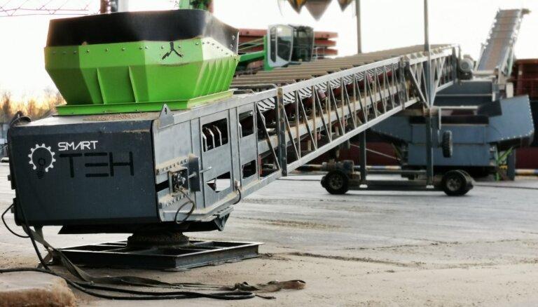 Уникальные инновационные технологии, созданные в Латвии, повышаютконкурентоспособность Рижского порта