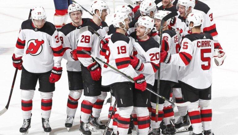 'Devils' atkal laimīgie NHL drafta loterijā, Girgensona 'Sabres' izvēlēsies septītie