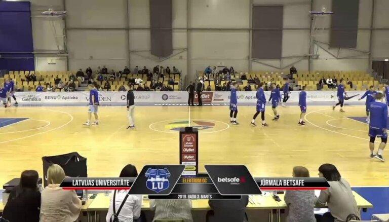 'OlyBet' basketbola līga: LU - 'Jūrmala/Betsafe'. Spēles labākie momenti