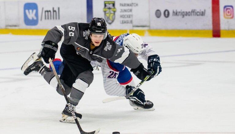 'Rīga' sezonas pirmajā MHL spēlē neizmanto milzu pārsvaru metienos