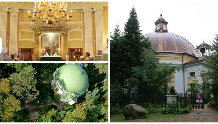 Noslēgusies neparastās Katlakalna baznīcas restaurācija; tā izmaksājusi 1,2 miljonus eiro