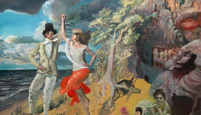 Valmierā būs aplūkojama Maijas Tabakas gleznu izstāde