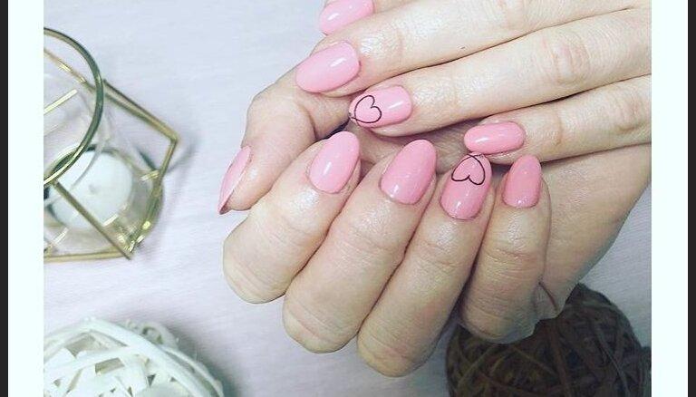 ФОТО. 31 идея дизайна ногтей в честь Дня всех влюбленных