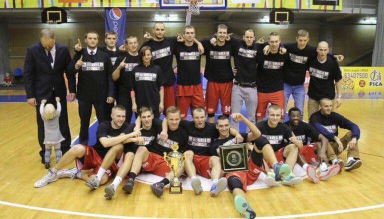 'Aldaris' Latvijas Basketbola līga. 'Liepāja/Triobet' jaunajā sezonā cer iekļūt labāko četriniekā