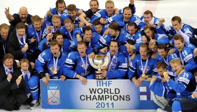 Somijas hokejisti otro reizi kļūst par pasaules čempioniem