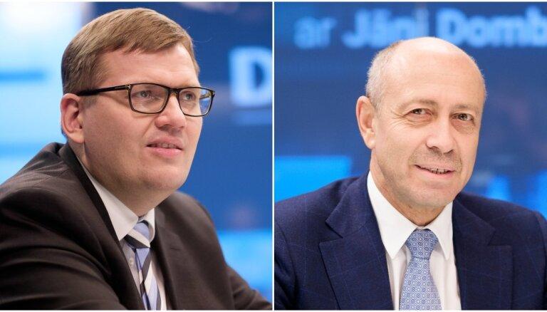 Ja Rīgas domi atlaidīs, nākamā jāievēlē uz pieciem gadiem, vienisprātis ir Pūce un Burovs