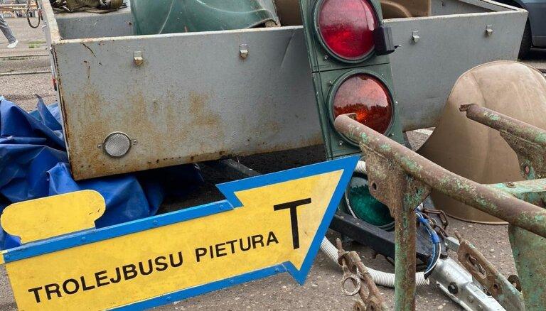 Foto: Šajā nedēļas nogalē norisinās senlietu tirdziņš Biķernieku trasē