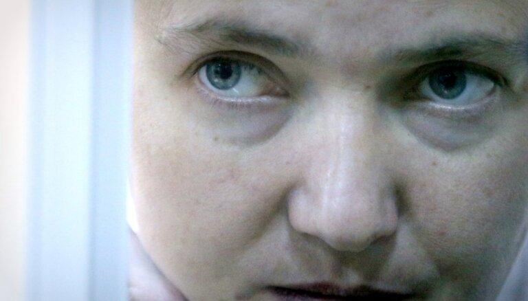 Савченко попросила Путина помиловать 66 украинцев