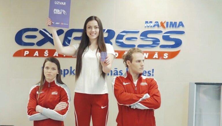 Jaunie Latvijas vieglatlētikas talanti pieņem izaicinājumu
