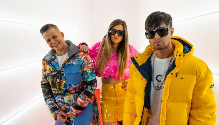 Berezina, Rassell un Oskis piedāvā vasarīgu deju hitu 'Mentola konfektes'