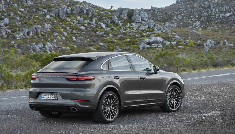 'Porsche Cayenne' apvidnieks jaunajā 'Coupe' modifikācijā