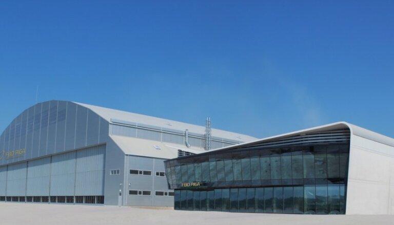 ФОТО: в Риге откроется центр бизнес-авиации