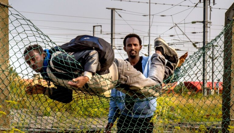 Нелегальных беженцев будут держать за трехметровым забором