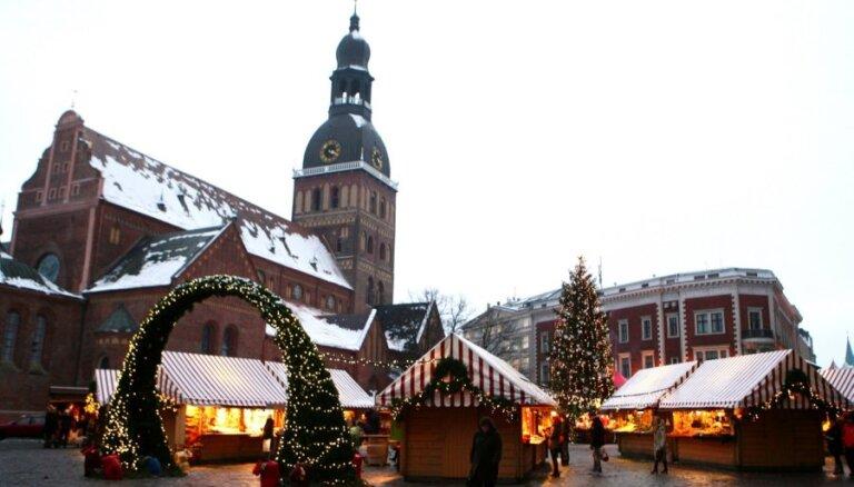 Bezmaksas Ziemassvētku pasākumi Rīgā