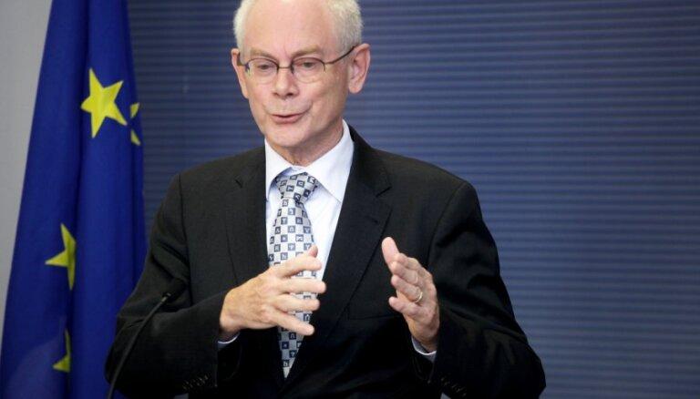 В Латвию приедут президент ЕС и глава Еврокомиссии