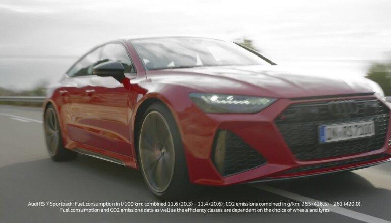 'Audi' prezentējis jaunās paaudzes 'RS7 Sportback' modeli