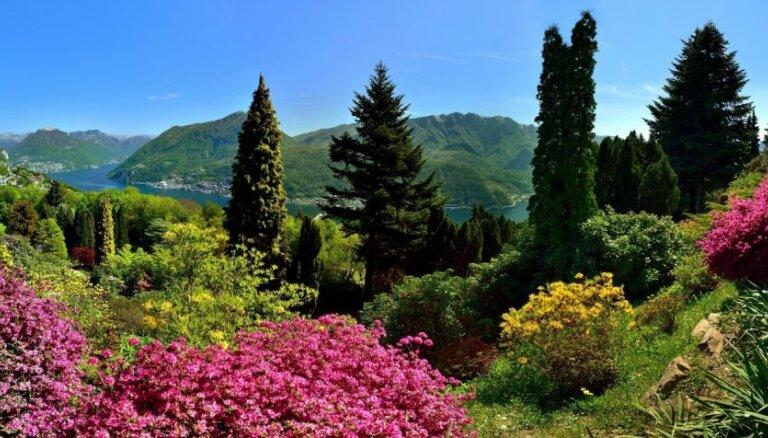 Pasakaini skaistais parks Šveicē, kas liek aizrauties elpai