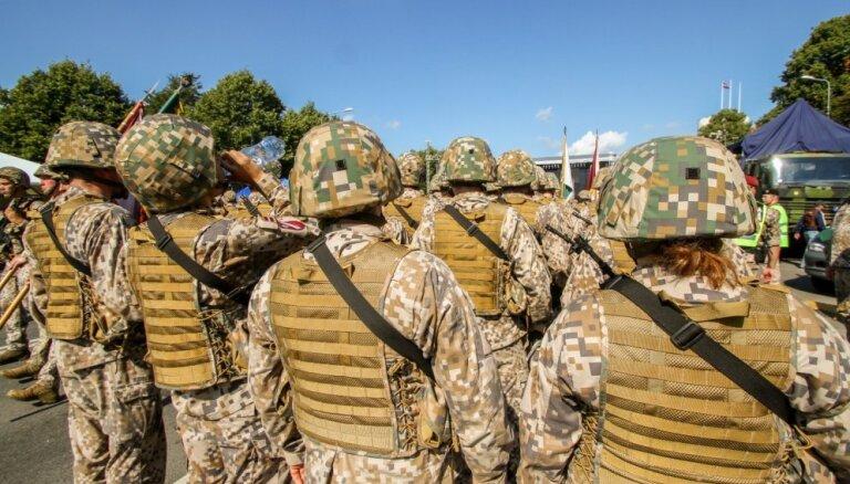 Rīgā sākas militārās mācības 'Rīgas zobens 2019'