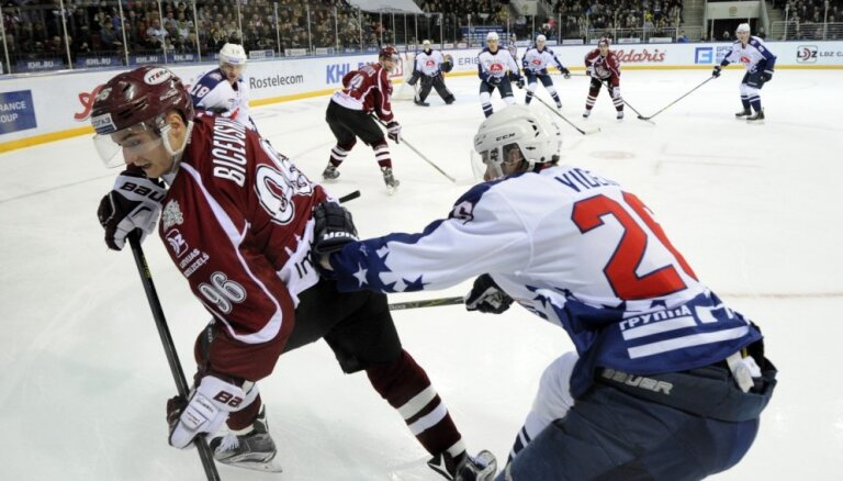Paziņots Rīgas 'Dinamo' sastāvs divām izbraukuma spēlēm