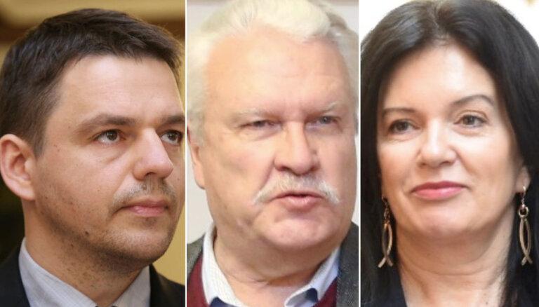 Par satiksmes noteikumu pārkāpšanu sodīti pieci Saeimas deputāti