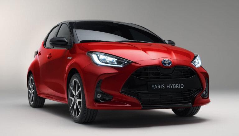 'Toyota' parādījusi jaunās paaudzes 'Yaris' hečbeku