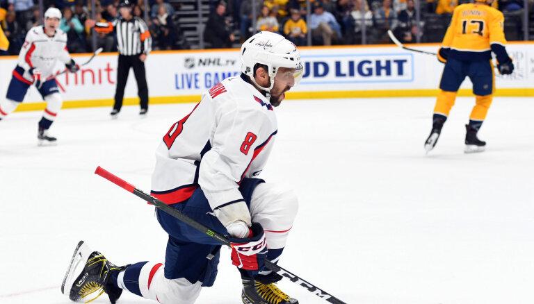 ВИДЕО: Овечкин вышел на четвертое место по голам в большинстве в НХЛ
