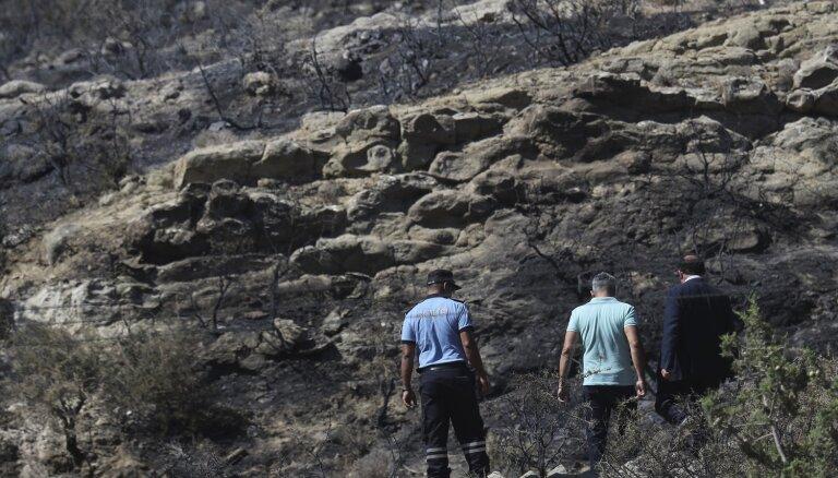 Kiprā, iespējams, sprāgst raķete no Sīrijas