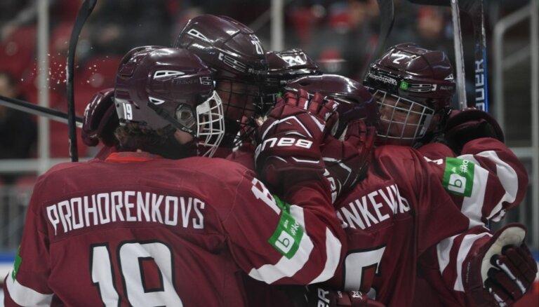 Izziņo Latvijas U-18 hokeja izlases kandidātu pārbaudes turnīram Norvēģijā