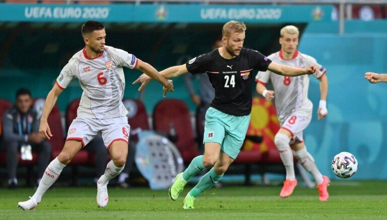 'Euro 2020': Austrija – Ziemeļmaķedonija. Teksta tiešraide