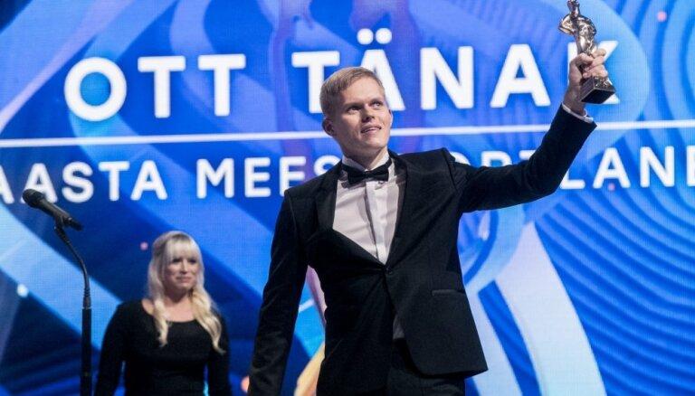 WRC pilots Ots Tanaks nosaukts par Igaunijas labāko gada sportistu