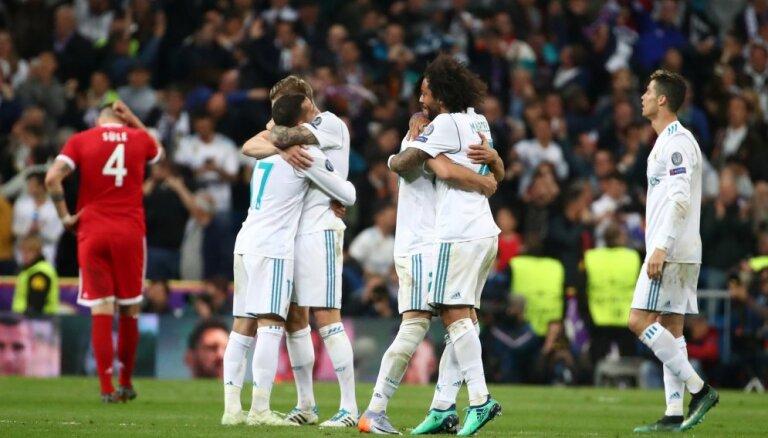 """Мадридский """"Реал"""" в третий раз подряд вышел в финал Лиги чемпионов"""