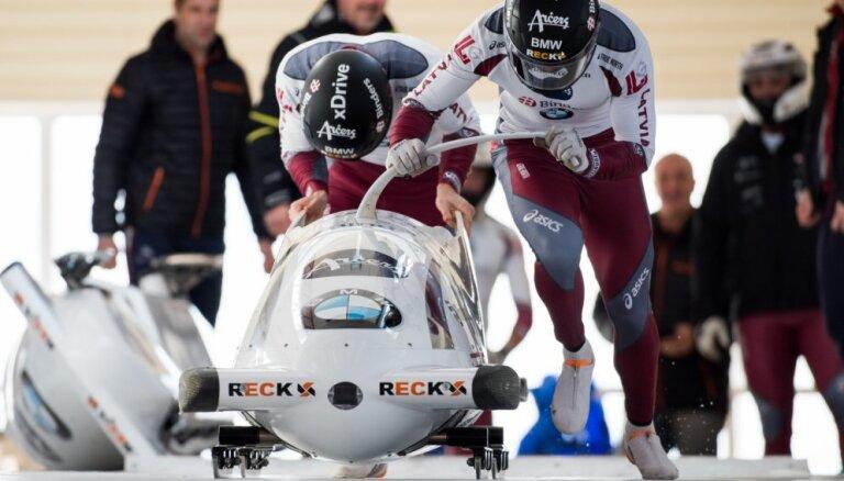 Eiropas kauss skeletonā un bobslejā: Pasaules junioru vicečempions Netlaus otrais, Bērziņš/Priekulis dalītā 15. vietā