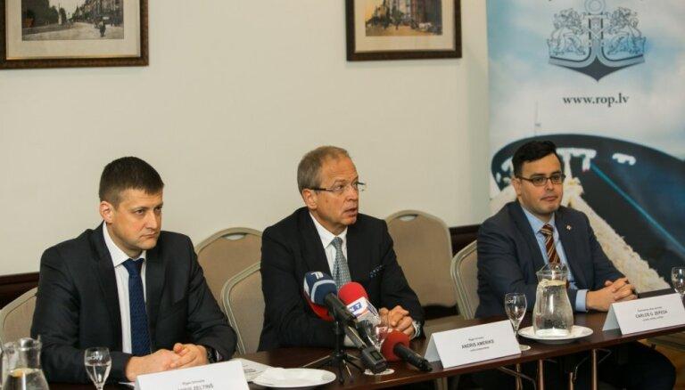 Новая программа развития Рижского свободного порта предусматривает расширение его деятельности