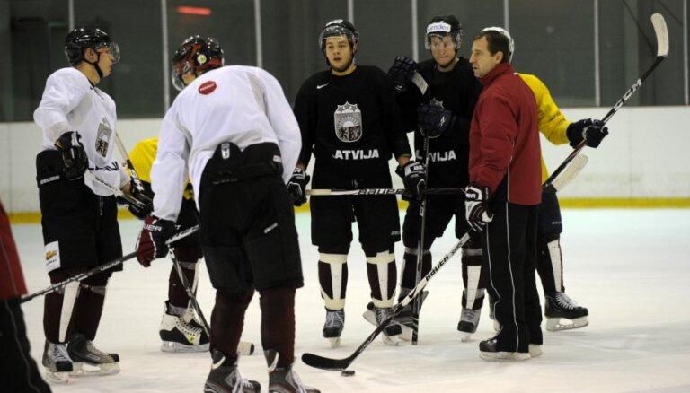 Latvijas U-20 izlase izšķirošajā spēlē par palikšanu PČ augstākajā divīzijā tiekas ar Dāniju