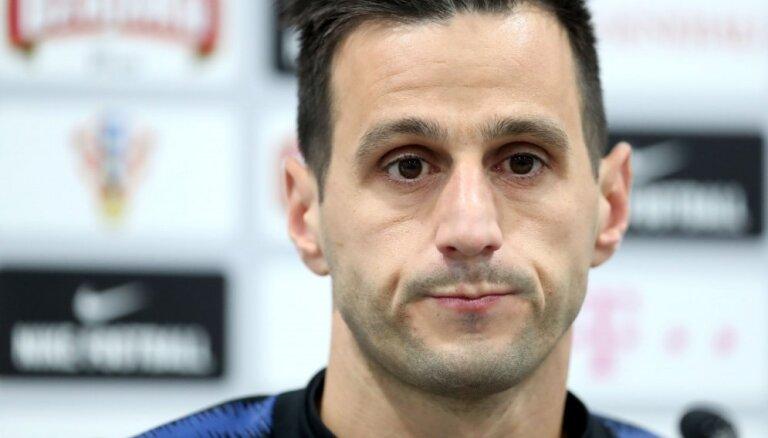 Mediji: par atteikšanos iziet uz maiņu no Horvātijas izlases izslēdz uzbrucēju Kaliniču
