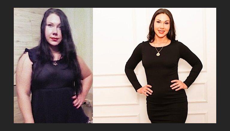 Ivetas tievēšanas stāsts, kas tev ir jāizlasa (-32kg)