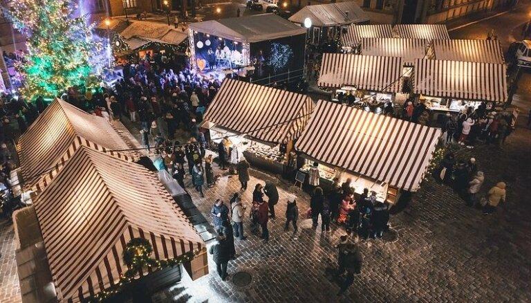 Ziemassvētku tirdziņi Rīgā atzīti par ekonomiski izdevīgākajiem Eiropā