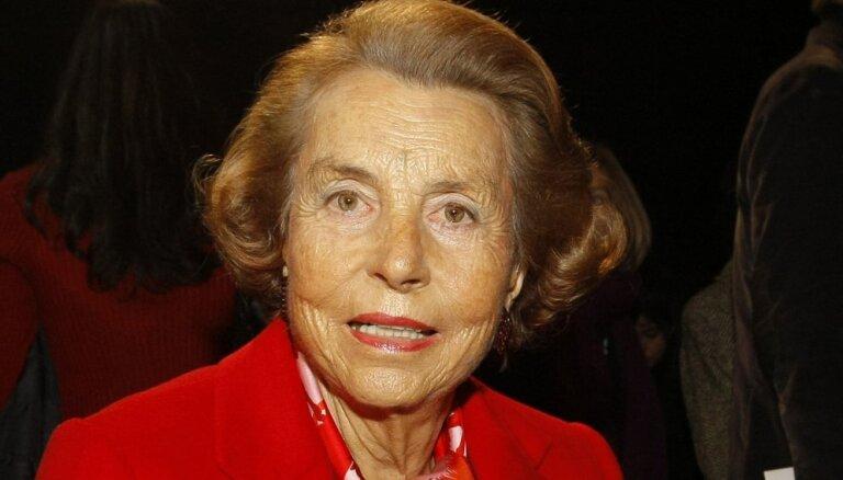 Mirusi pasaulē bagātākā sieviete Liliana Betankūra