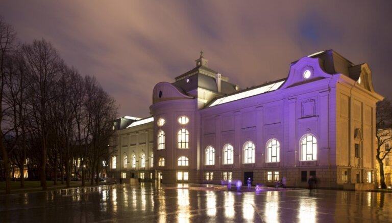 Foto: Pirmā atvērto durvju diena atjaunotajā Latvijas Nacionālajā mākslas muzejā