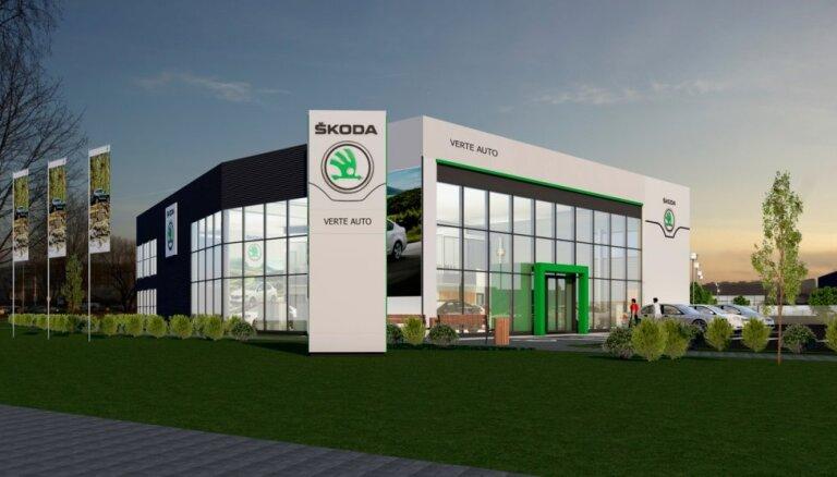 Rīgā uzsāk 'Škoda' otrā pilna servisa dīlera celtniecību