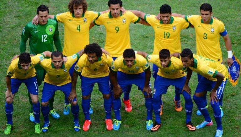 Бразилия поднялась на четвертое место в рейтинге ФИФА