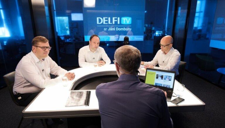 Par ko balsot? 'Delfi TV ar Jāni Domburu' atbild 'Attīstībai/Par!'