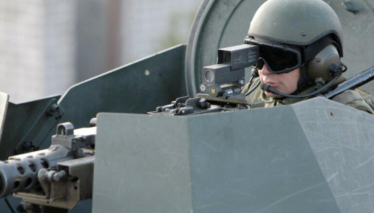 НВС Латвии усилили контроль за внешними границами